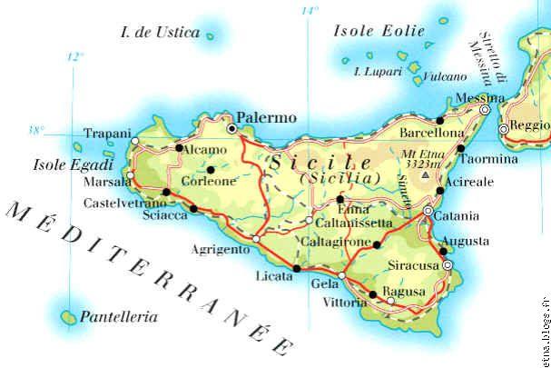 guide touristique cote nord carte routiere